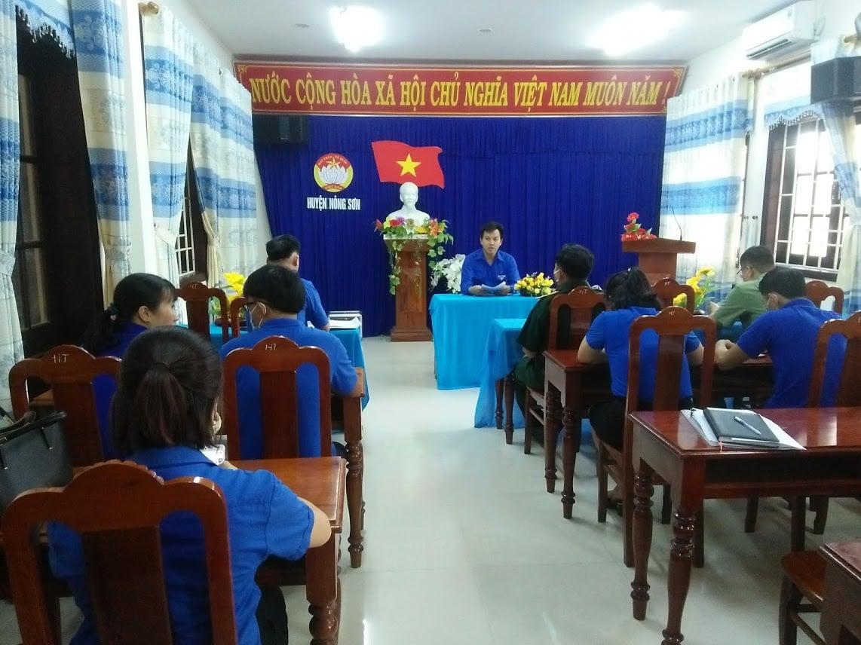 Huyện đoàn Nông Sơn lấy ý kiến giới thiệu bổ sung chức danh cán bộ Đoàn chủ chốt